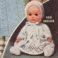 dolls layette 1959