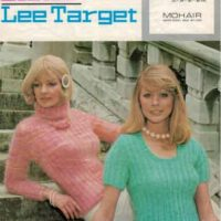 Lister Lee Target 516 Lady's Sweater with Polo Neck and Tank Top In four sizes