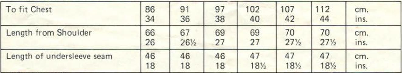 Lister K1026 measurements