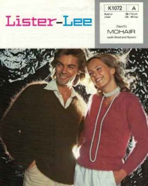 Lister K1072 His and Her Sweater in six sizes