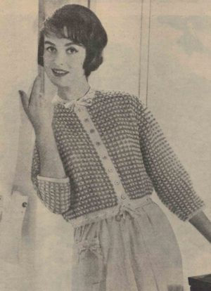 Bed Jacket from the 1958 Magazine My Home