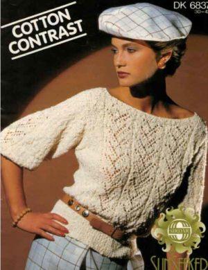 Sirdar 6837 - Cotton Sweater