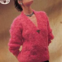 Sirdar 7003 Ladies cardigan
