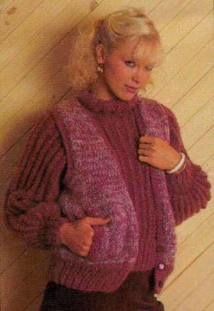 Cleckheaton 0111 - Ladies Vest