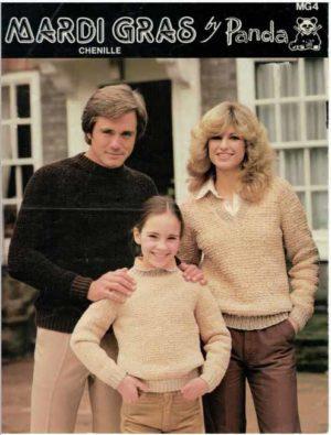 Panda MG4 - Family Sweaters