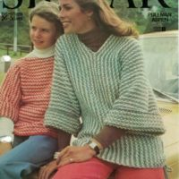 Sirdar 7162 - Turnabout Sweater