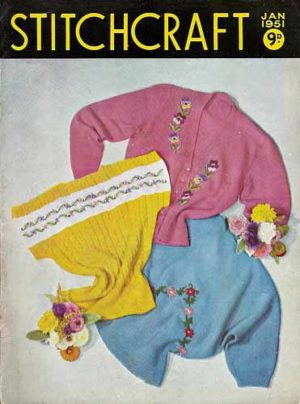 Stitchcraft No 205 cover page - January 1951