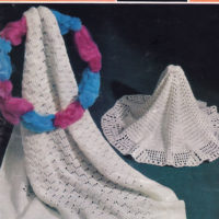 Layette Sets, Shawls and Afghans
