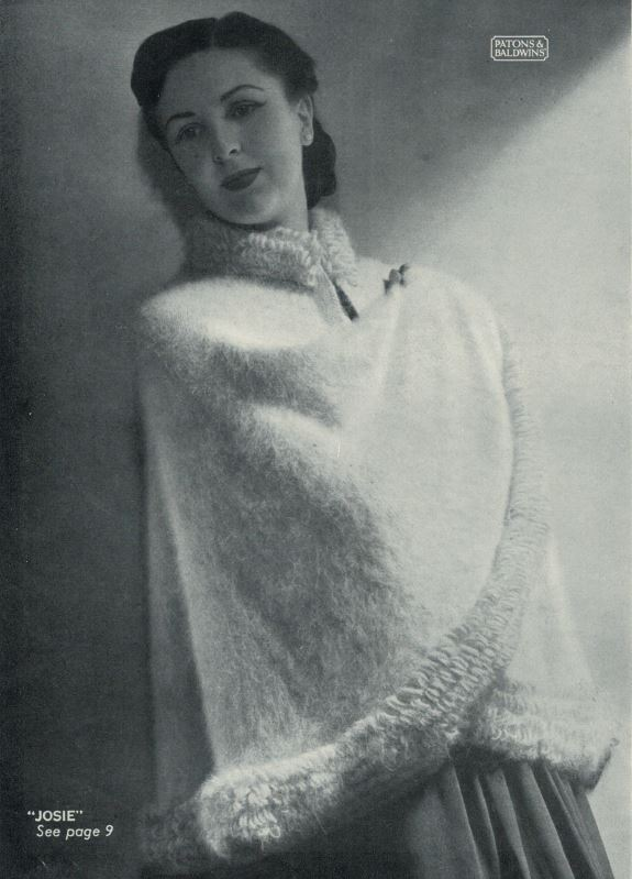 Patons 265 - Lady's Cloak Josie