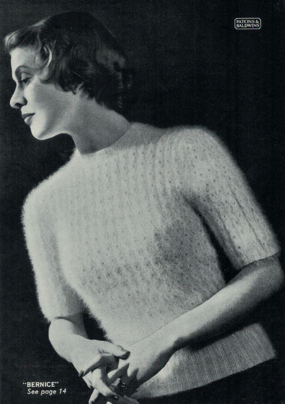 Patons 265 - Lady's Jumper Bernice