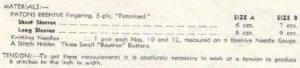 Patons 274 - Lady's Jumper Carmen - Materials