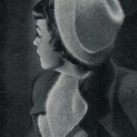 Patons 280 - Lady's Hat & Scarf - Cashmere