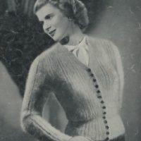 Patons 280 - Lady's Cardigan - Marmot