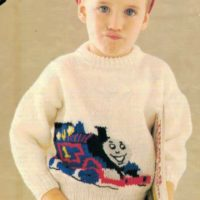 Robin 15029 - Child's Thomas The Tank Engine Sweater
