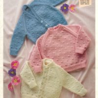 Shepherd 1718 - Baby's Cardigan & Sweater