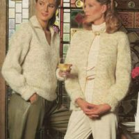 Sirdar 7343 - Lady's Jumper & Jacket