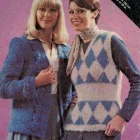 Villawool L439 - Lady's Vest & Jacket