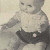 Boy Doll Outfit from 1958 My Home Magazine - gallery1