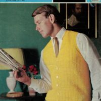 Sirdar 2315 - Man's Crochet Waistcoat