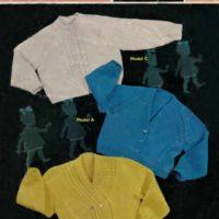 Sirdar 267 - Baby's Cardigan