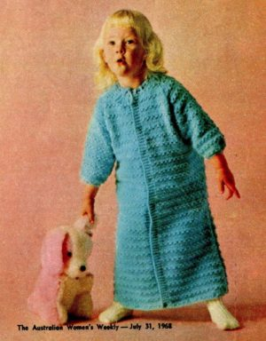 Womens Weekly 1968 sleeping bag