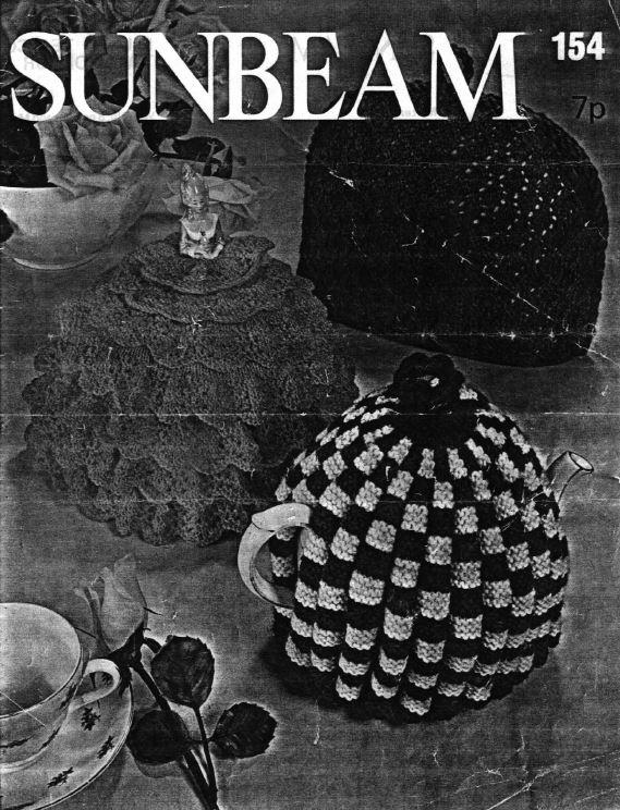 Sunbeam 154 - teapot cosy image