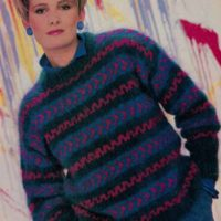 Fair Isle jumper from Womans Day Collector Series
