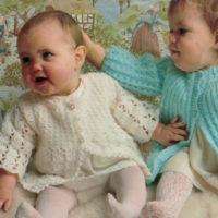 Sirdar 108 Babys Crochet Jacket image