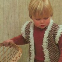 Sirdar 108-35 36 Sweater and Waistcoat image2