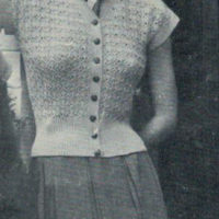 Patons 398 - Lady's Cardigan Ralda